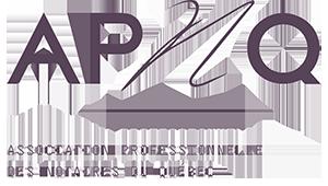 Logo de l'Association Professionnelle des Notaires du Québec (APNQ) - Coutu & Comtois (notaires à St-Gabriel-de-Brandon)
